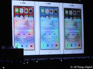 iiPhone 5 with OS7